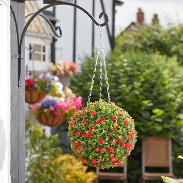 Topiary Red Rose Ball