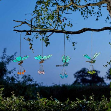 Flutter-Glo Pendants
