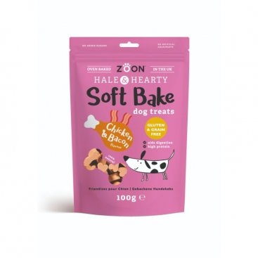 Soft Bake - Chicken & Bacon - 100g