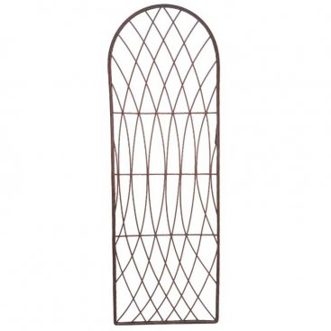 Rot-Proof Faux Willow Trellis Rounded 1.2m x 0.45cm - Natura