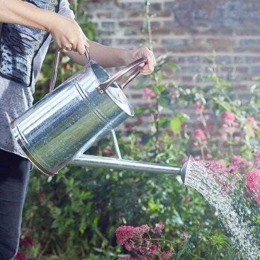 Watering Can 9L, Galvanised Steel