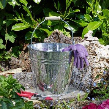 10L Galvanised Bucket