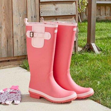 Flamboya Flamingo Rubber Wellingtons S4