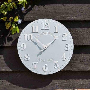 Westminster Duck Egg Wall Clock