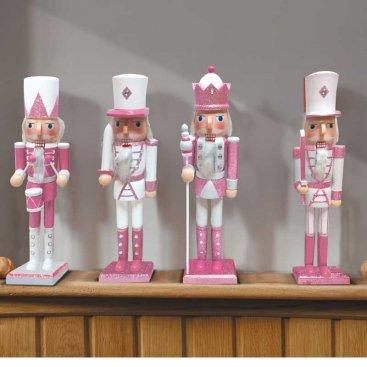 Nutcracker - Pink/white Large