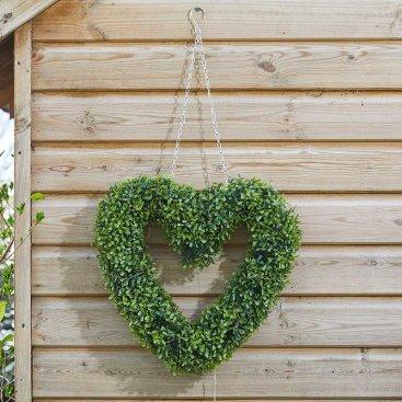 Boxwood Heart