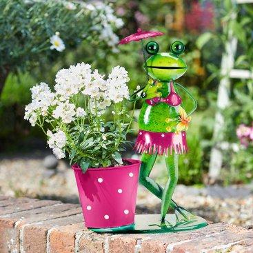 Brolly Frog Pot-Pet