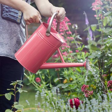 Watering Can 4.5L, Coral Pink