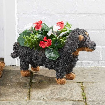 Sausage Dog Planter