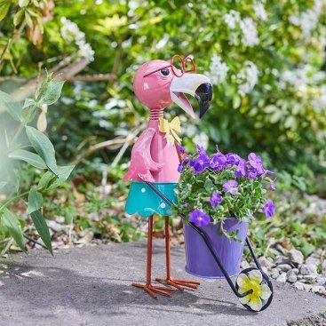 Flamingo Pot- Pet