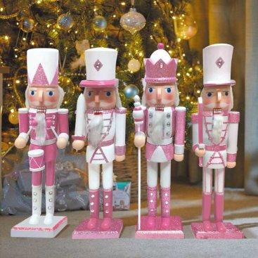 Nutcracker - Pink/white XL