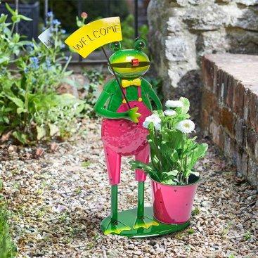 Welcome Frog Pot-Pet