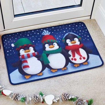 Frosty Penguins 40x60cm