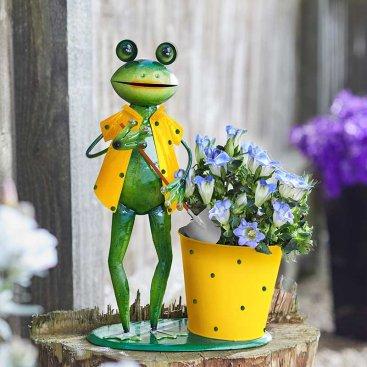 Gardening Frog Pot-Pet