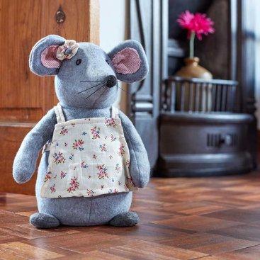 Mrs Mouse Doorstop