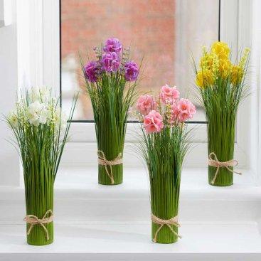 Faux Bouquet - Fleurettes