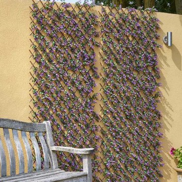 Vivid Violet 180 x 90cm Trellis