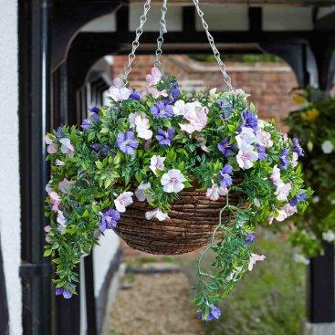 Easy Basket - Petunias 30cm