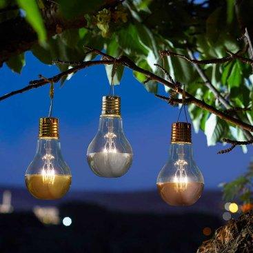 Solar Eureka Lightbulbs
