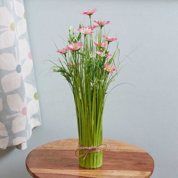 Faux Bouquet - Pretty in Pink, 40cm