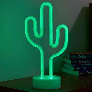 Neon Decor Cactus