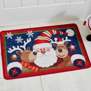 Santa and Friends 40x60cm