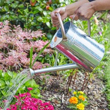 Watering Can 4.5L, Galvanised Steel