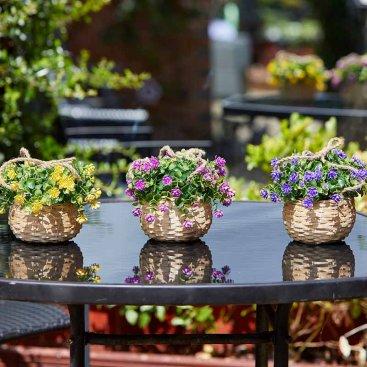 Basket Bouquet - Florets