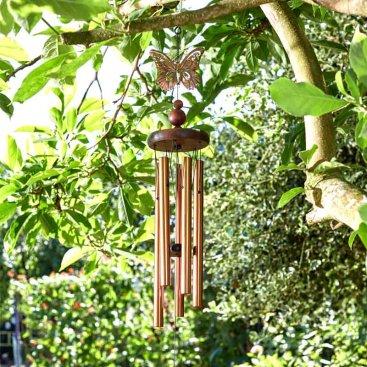 Bronze Butterfly Windchime