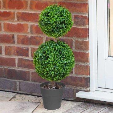 Duo Topiary Tree