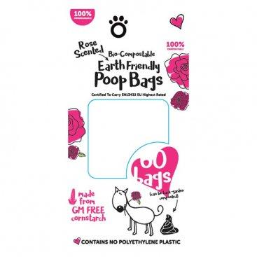 Bio-Compostable Poop Bags - 120 Pack, 8 Rolls