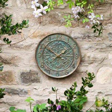 Verdant Wall Clock