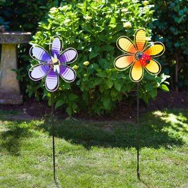 Spinning Blooms Lilac & Lemon