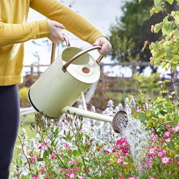 Watering Can 9L, Cream