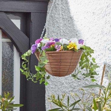 Easy Basket - Pansies 30cm