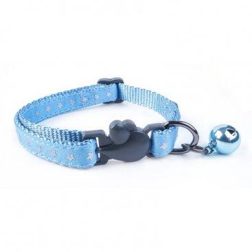 WonderLust Cat Collar - Starry Shiny Blue