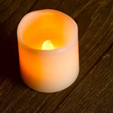 Flameless LED Pillar Candle, 4 pack