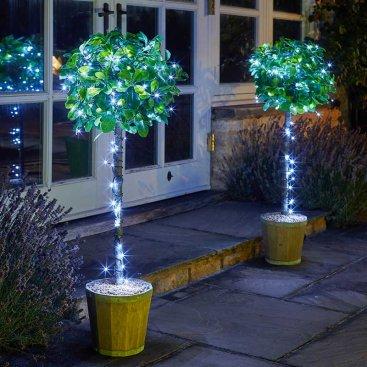 Eco String Lights - Cool White, 50 LEDs