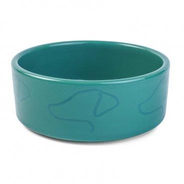 15cm Zoon Ceramic Bowl - Green