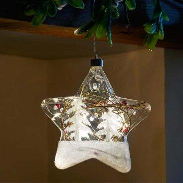 18cm CrystaLlight Alpine Star 10 LEDs