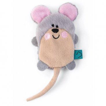 Nip-it Refillable Catnip Mouse - sachet included