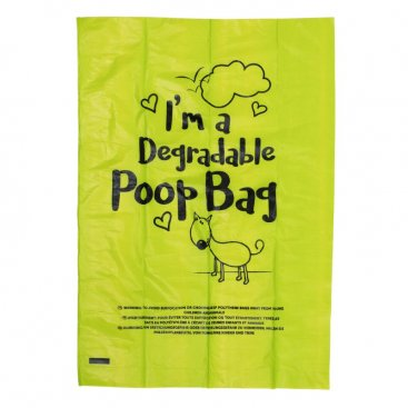 Degradable Poop Bags - 120 Pack, 8 Rolls