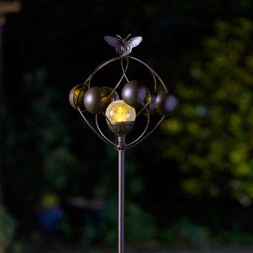 Aura Wind Spinner with Solar Crackle Ball