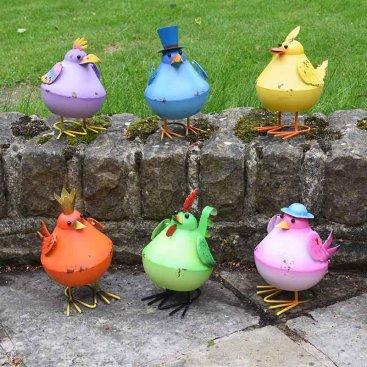 Bobbly Birds