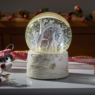 Winter Wonderland Snow Sphere 10cm
