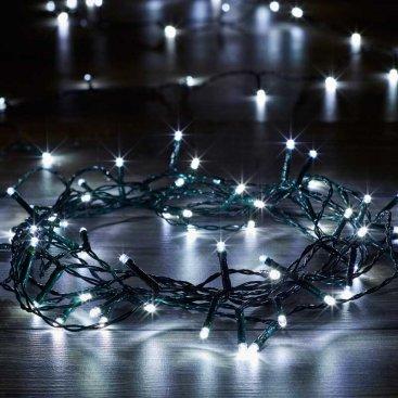 Eco String Lights - Cool White, 100 LEDs