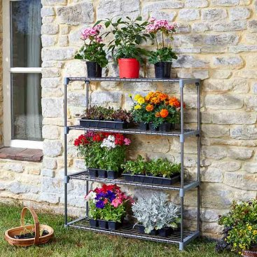 4 Tier GroZone Shelving