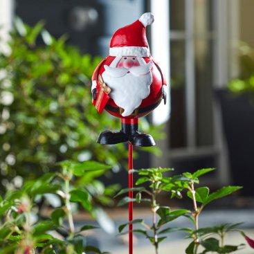 Wibbly Santa Stake