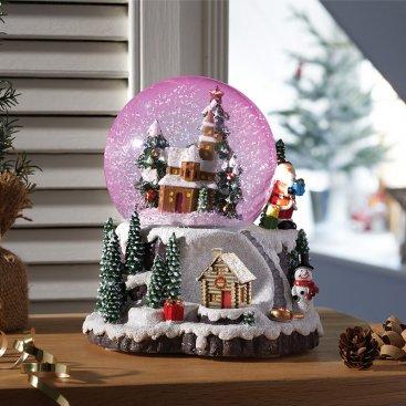 Village Wonderland Snow Sphere 12cm