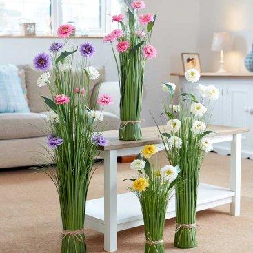 Faux Bouquet -  Pearl Blooms, 70cm